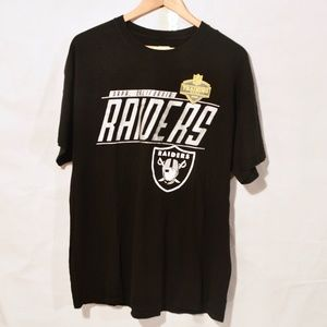 NFL Official RAIDERS Training Camp T Shirt Tee XL